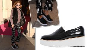 Olivia Palermo Is Showing You <em>Exactly</em> How To Wear Platform Sneakers--Permission To Copy