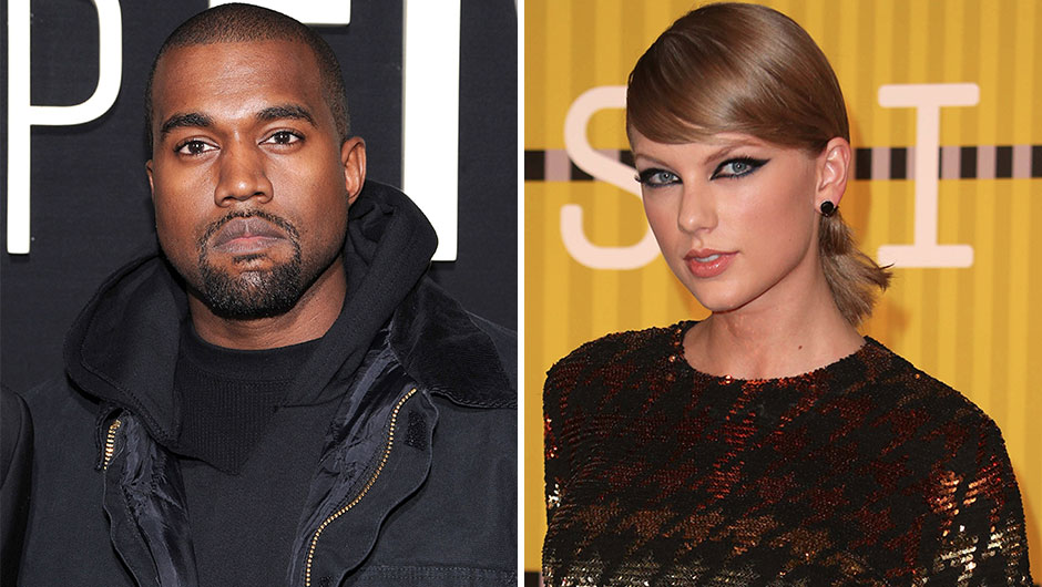 Taylor Swift and Kanye West Feud