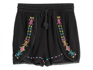 Embroidered Shorts ($17.99)