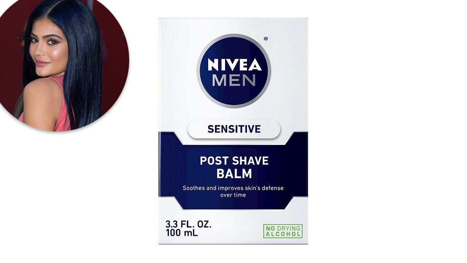 Kylie Jenner Makeup Tips | Nivea Sensitive Skin Post Shave Balm