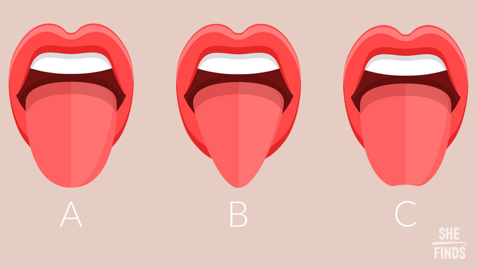 Find Out What Your Tongue Shape Says About You