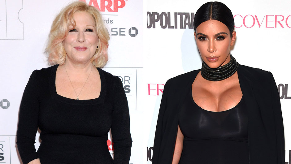Kim Kardashian Twitter Feud With Bette Midler