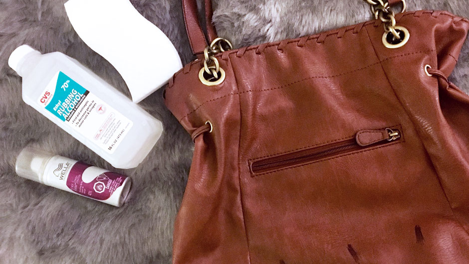 How To Get An Ink Stain Out Of A Leather Purse