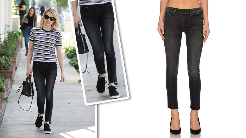 Emma Roberts Is The Latest Celeb Jumping On The MOTHER Denim Trend