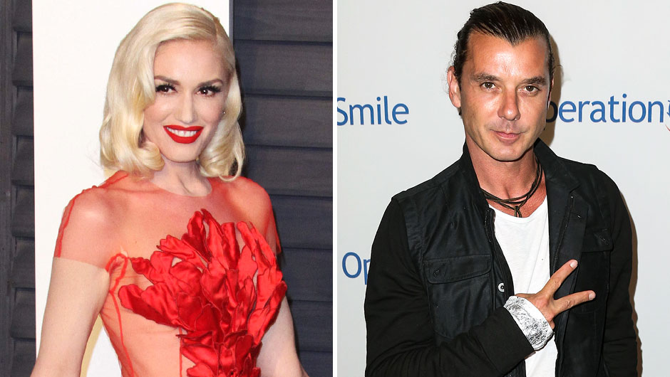 Ms. Gwen Stefani At the Vanity Fair Oscar Party And Gavin Rossdale
