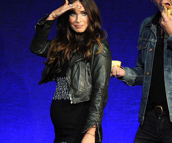 Megan Fox Shows Off Baby Bump