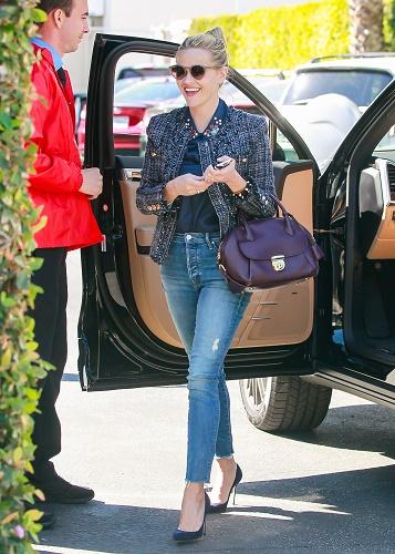reese witherspoon jeans heels handbag