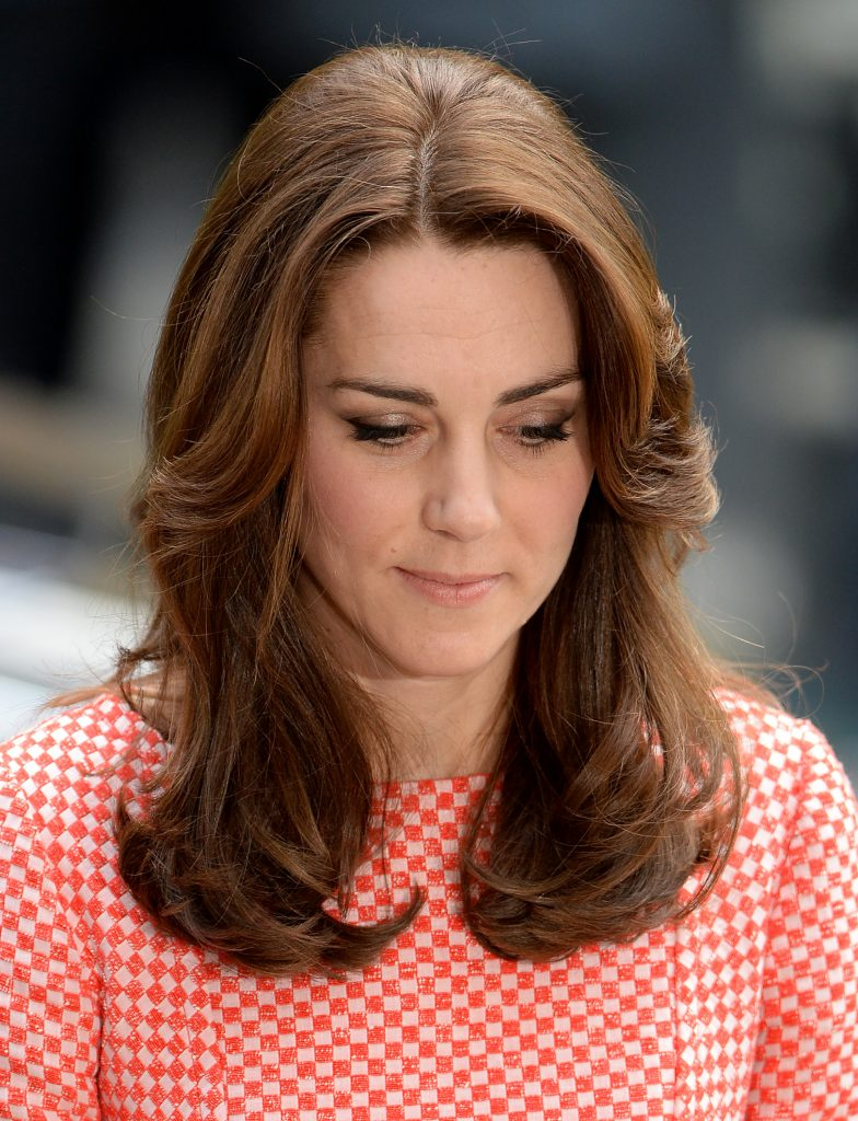 The Duke and Duchess of Cambridge visit the mentoring programme of the XLP project at London Wall, which supports young people who are facing emotional, behavioural and relational challenges in London, UK, on the 11th March 2016. Pictured: Duchess of Cambridge, Catherine, Kate Middleton Ref: SPL1244395 110316 Picture by: James Whatling Splash News and Pictures Los Angeles:310-821-2666 New York: 212-619-2666 London: 870-934-2666 photodesk@splashnews.com