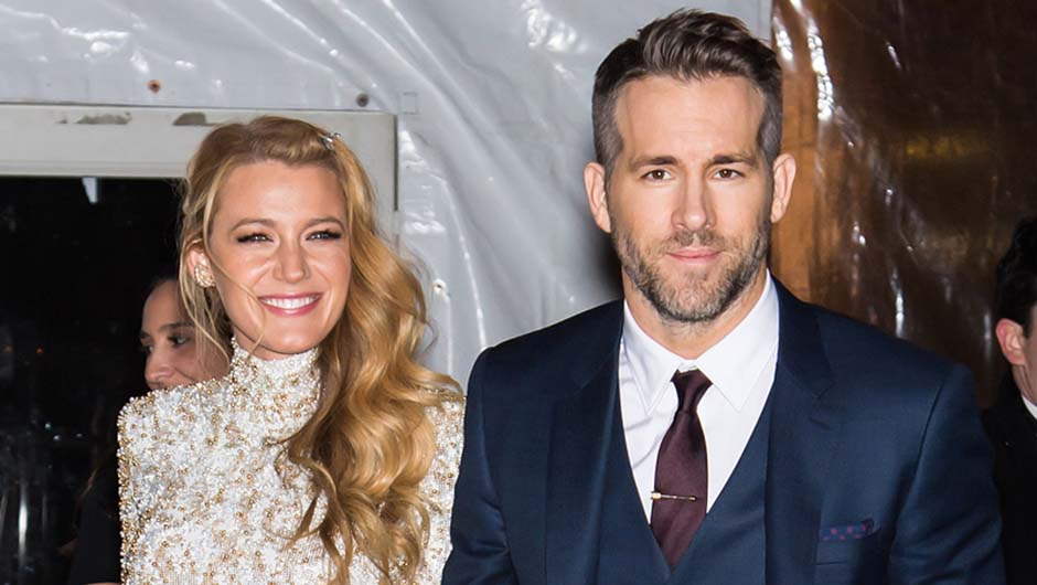 Blake Lively & Ryan Reynolds After Shooting