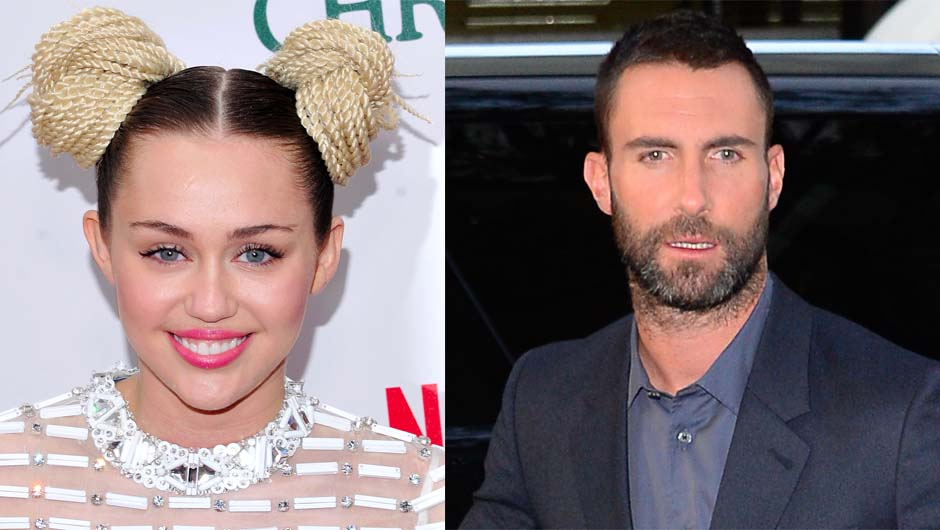 Miley Cyrus & Adam Levine Feuding On 'The Voice'