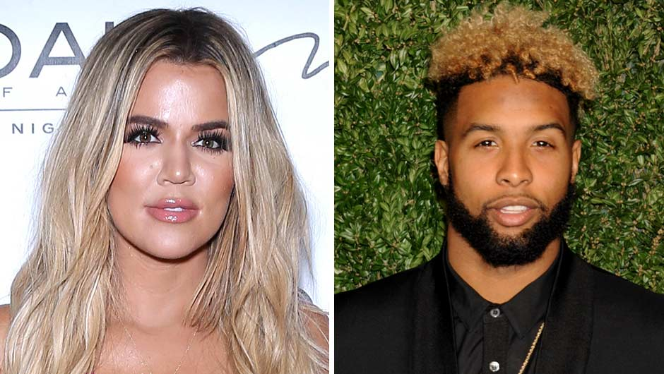 Khloe Kardashian And Athlete Odell Beckham Jr
