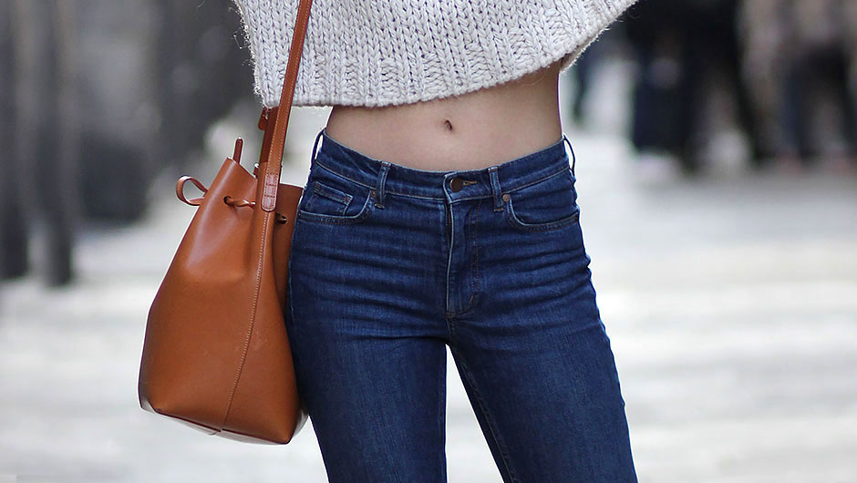 Waist jeans too small