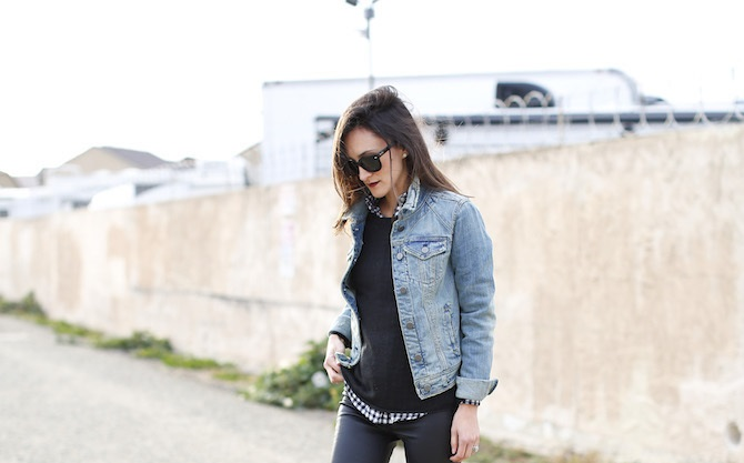 Denim Jacket Outfit Ideas | How To Wear A Jean Jacket