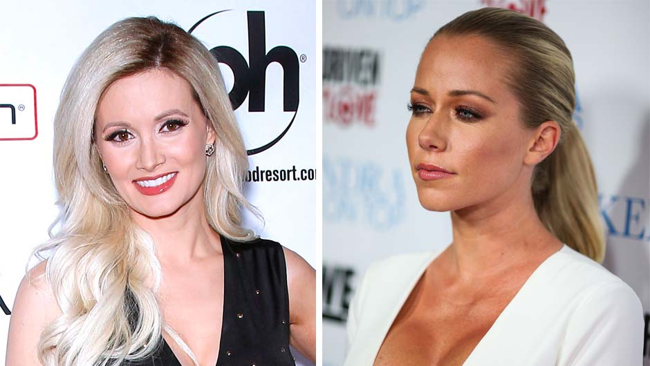 Holly Madison Reacts to Kendra Wilkinson's NSFW Tweets