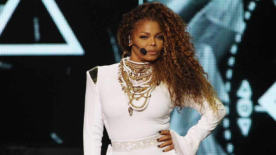 An Attractive look of Janet Jackson