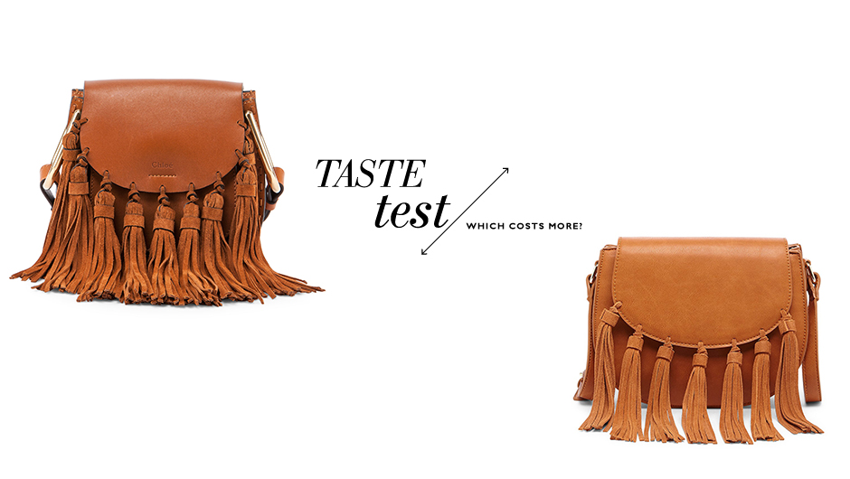 "745efda8031 The Chloe Hudson Mini Fringe ($2,150) is a classic ""It"" bag. Celebs wear  it, women have it on their wish lists. There's just something so cool and  ..."