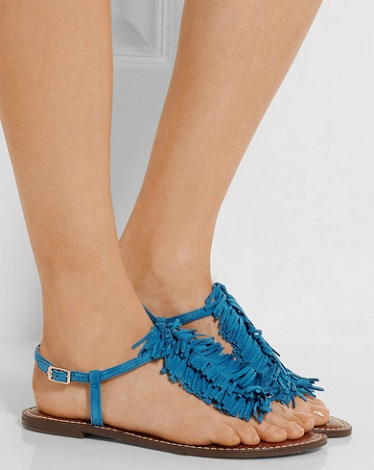 368389584f93 SAM EDELMAN Gela fringed suede sandals