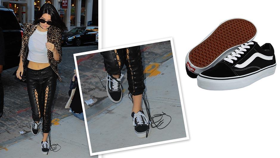Kendall Jenner Vans sneakers