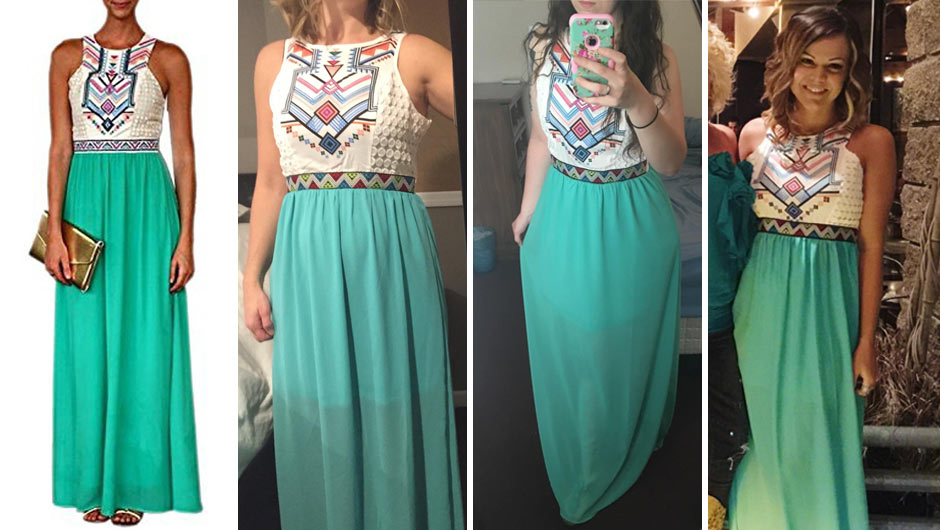This Super Cute $23 Maxi Dress Has Almost 300 4-Star Reviews On Amazon