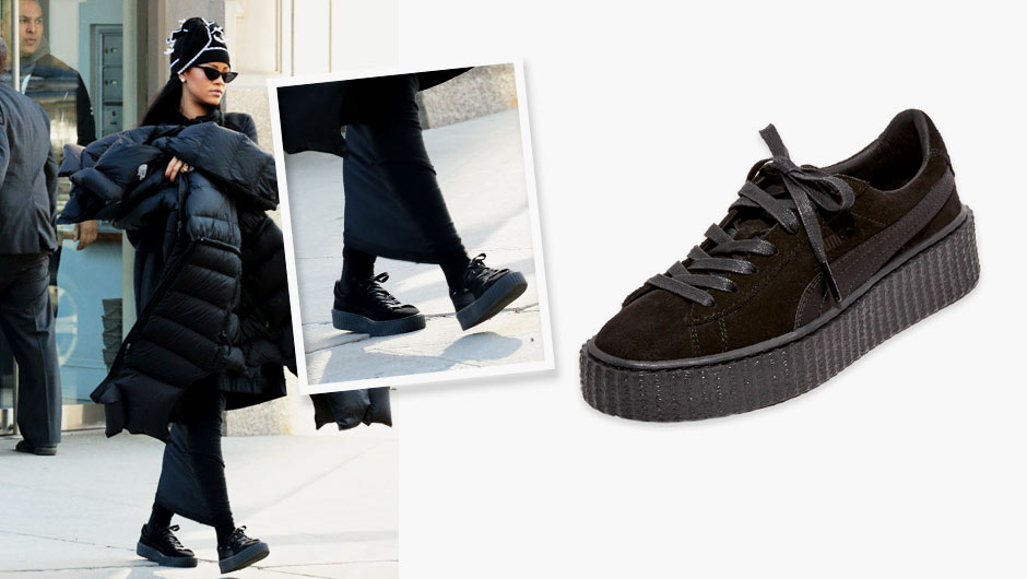 86da2d872df4 Thought Rihanna s PUMA Creeper shoes were sold out everywhere  Think again!  We found not one
