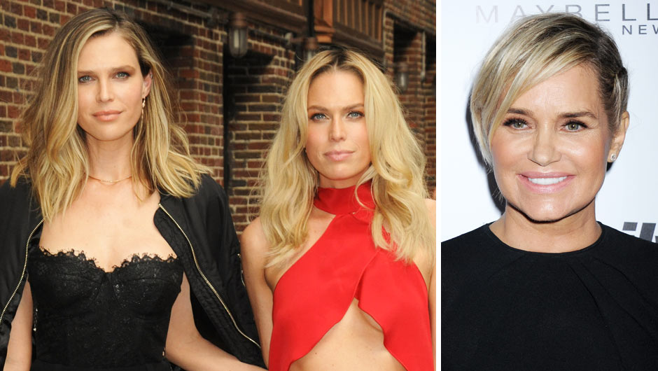Sara and Erin Foster Feud With Yolanda Hadid