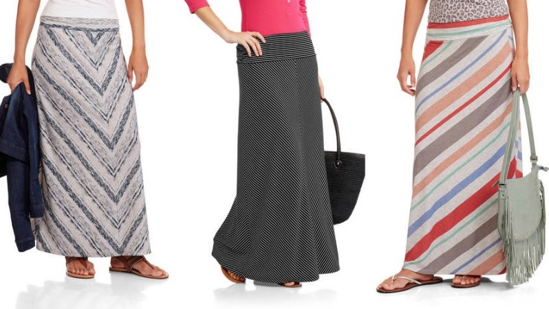 Women Are Going Wild For This $9 Maxi Skirt From--Wait For It--Walmart!