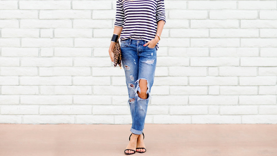 Large Editorial Image - How To Stop Your Ripped Jeans From Ripping