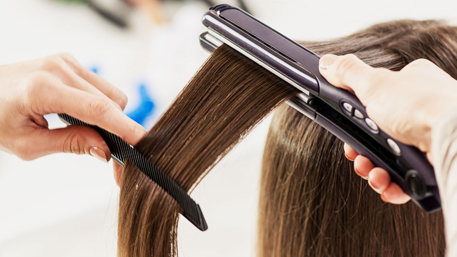 The Huge Mistake Almost Every Woman Makes When Straightening Her Hair