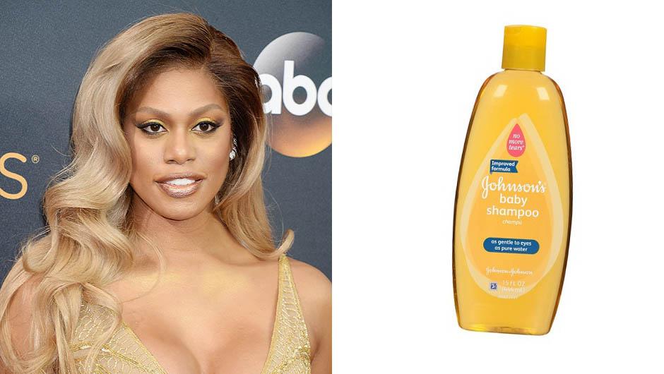 Laverne Cox Baby Shampoo