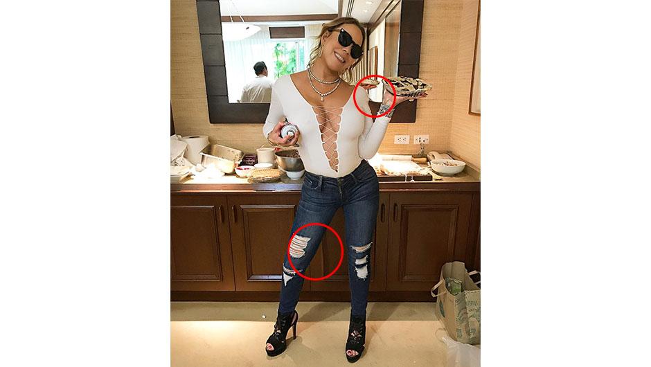 Mariah Carey Photoshop fail