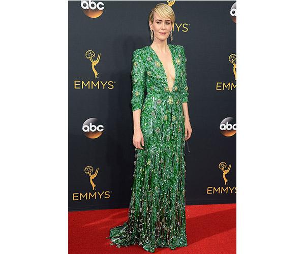 Sarah Paulson Emmy dress 2016