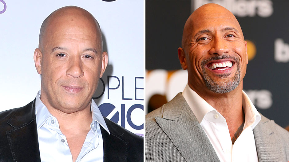 Dwayne 'The Rock' Johnson Talks Feud With Costar Vin Diesel