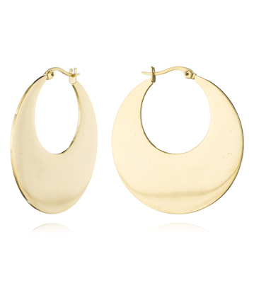 Fallon Gold Hoop Earrings