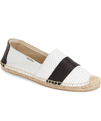 Soludos 'Barca' Perforated Espadrille Slip-On