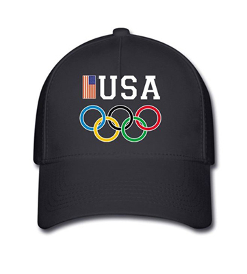 Ryan Lochte Halloween Costume team usa hat
