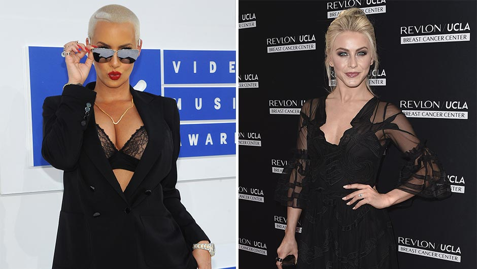 Amber Rose and Julianne Hough Hash Out Feud