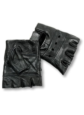 Men's Basic Fingerless Gloves