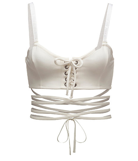 LACING CAMI BRA