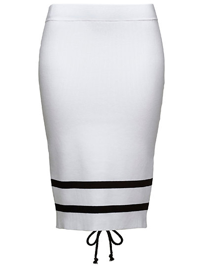 LACING PENCIL SKIRT