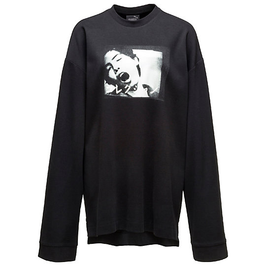 LONG SLEEVE GRAPHIC CREW NECK T-SHIRT