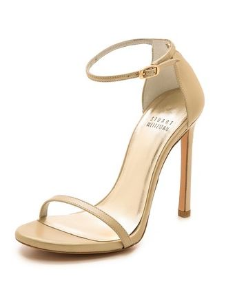 Stuart Weitzman Nudist Single Band Sandal