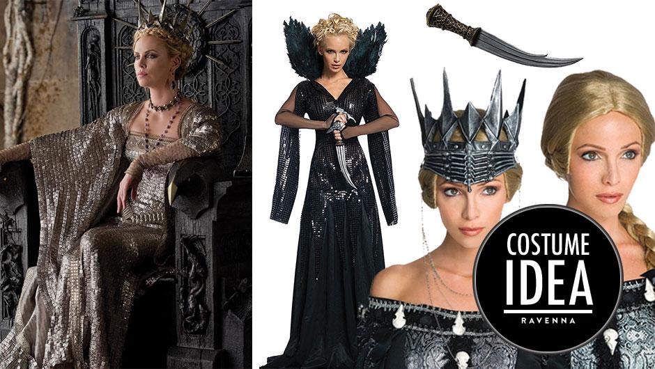 Deluxe Freya Costume Snow White /& The Huntsman Halloween Fancy Dress