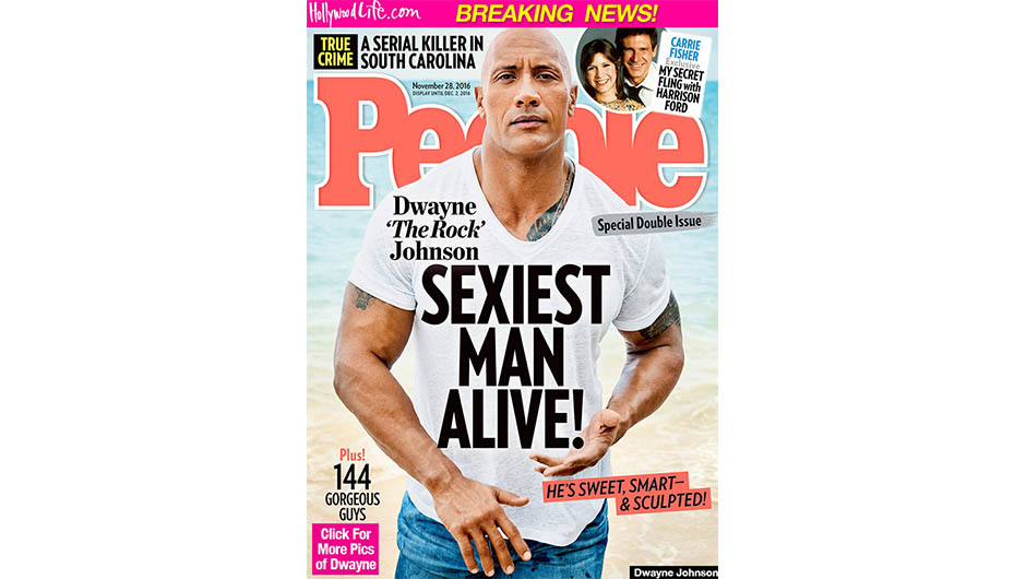The Rock Sexiest Man Alive