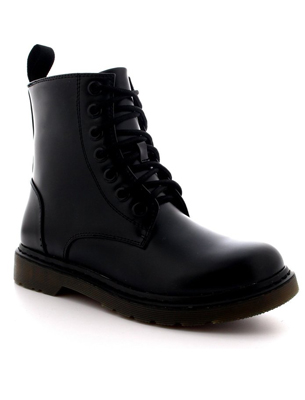 Womens Vintage Rock Lace Up Boots