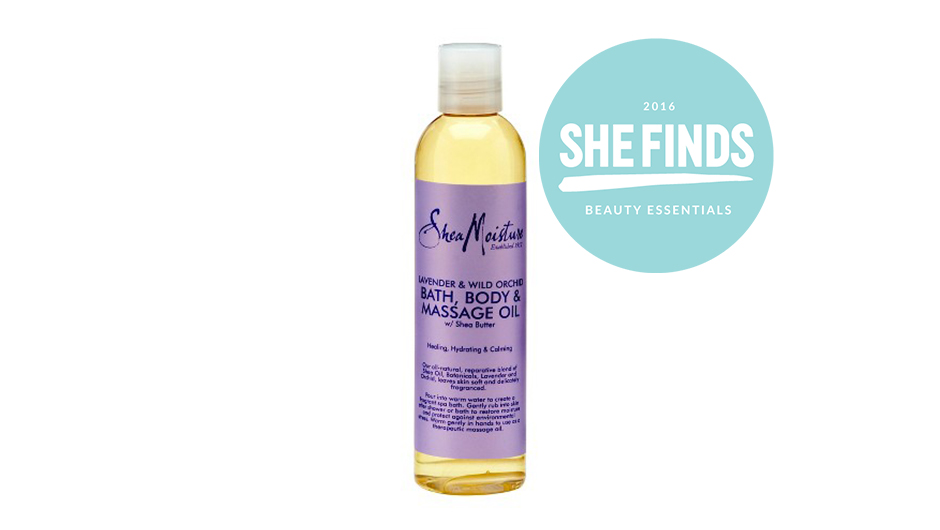 SheaMoisture Body Oil In Lavender Wild Orchid Is My Jam Right Now