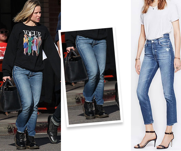kristen bell mother jeans