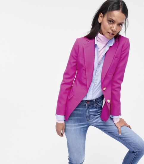 jcrew collection at nordstrom pink blazer