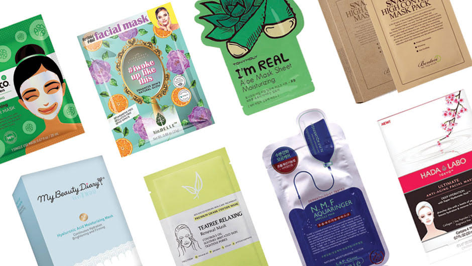 The Best Drugstore Sheet Masks - SHEfinds