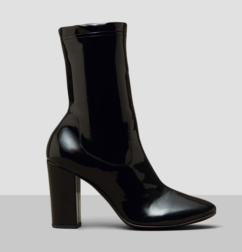 Krystal Patent Leather Boot Details KENNETH COLE BLACK LABEL