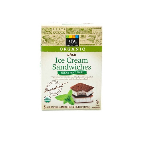 ... Mini Ice Cream Sandwiches ($4.99). Mini means you can have more than
